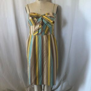 Anthropologie bow front dress